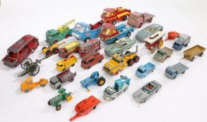 Collection of model vehicles, to include Corgi, Lesney, Maisto, Tonka, and Matchbox (qty)