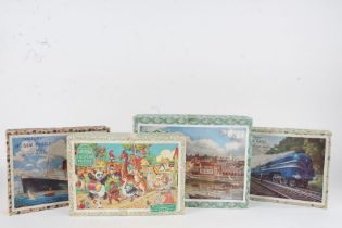 Collection of eight Victory jigsaw puzzles, and one other jigsaw (9)