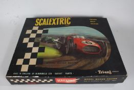 Triang Scalextric Grand Prix Series racing set, housed in original box with a Lotus car