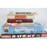 Games to include Mastermind, Mahjong, compendium of games, building blocks, 1950's-1980's