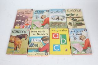 Collection of Ladybird books, mostly educational examples, to include Natural History, Junior