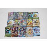 Collection of Pokemon TCG cards, to includeLunala GX Holo 66/149, Togepi&Cleffa&Iggglybuff GX