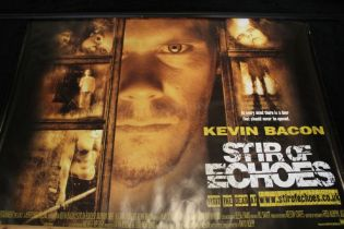 Stir of Echoes (1999) - British Quad film poster, starring Kevin Bacon, rolled, 76cm x 102cm