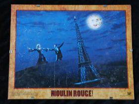 Moulin Rouge (2001) - American lobby card, starring Nicole Kidman, Ewan McGregor, and John