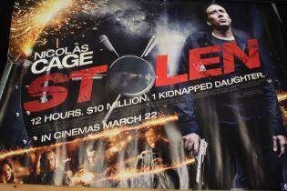 Stolen (2012) - British Quad film poster, starring Nicolas Cage, rolled, 76cm x 102cm