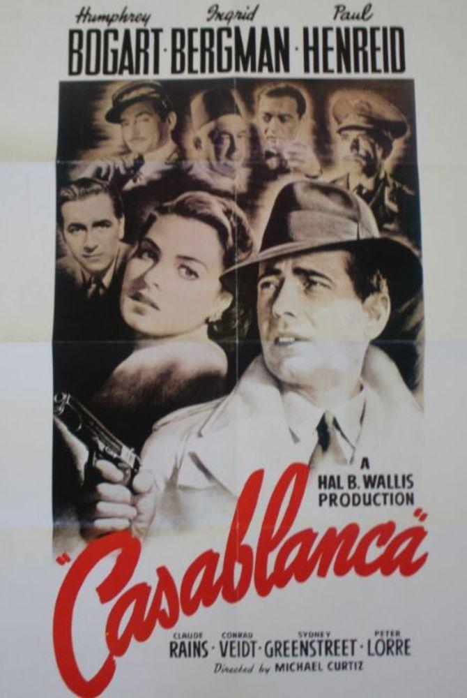 Timed Poster and Film Memorabilia Auction - Ending 26th September 2021