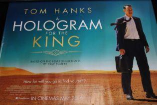 A Hologram for the King (2016) - British Quad film poster, starring Tom Hanks, rolled, 76cm x 102cm
