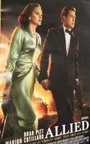 Allied (2016) - British one sheet film poster, starring Brad Pitt, rolled, 68cm x 102cm