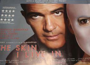 The Skin I Live In (2011) - British Quad film poster, starring Antonio Banderas and Elena Anaya,