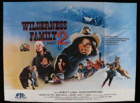 Wilderness Family 2 (1978) British Quad poster, folded