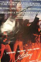Glory (1989) - British one sheet film poster, starring Matthew Broderick and Denzel Washington,