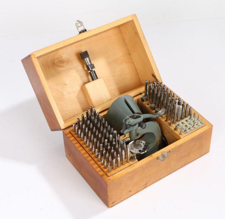 Boley staking set, housed in original box