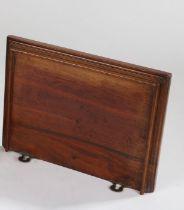 Late 19th Century mahogany bracket clock bracket 29cm wide