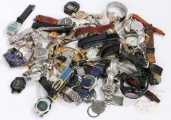 Gentlemen's and ladies wristwatches, to include Citizen, Timex, Fortis, Accurist, Lorus, Casio,