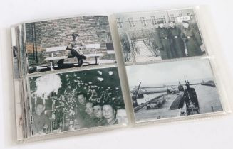 Collection of Second World War photographs (copies), British and German aircraft, bomb damaged
