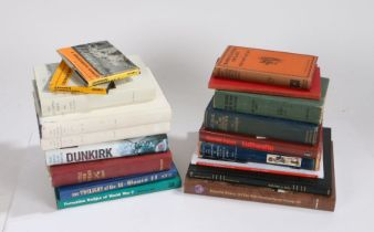 Selection of Military themed books, to include,'The Twilight of the U Boats', 'Formation Badges of