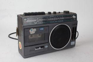 Hitachi cassette recorder, TRK-5381L, sold as collectors item, 31cm wide