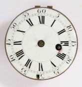T. Tompion & E. Banger verge pocket watch movement, the signed movement numbered 4101, with