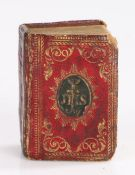 """George III miniature bible- """"THE BIBLE IN MINUITURE OR A CONCISE HISTORY OF THE OLD AND NEW"""