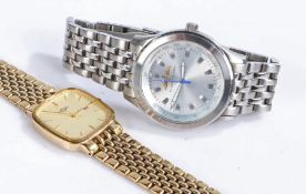 Fleet Air Arm Sea Harrier gentleman's limited edition watch, the silver dial with Fleet Air ARm