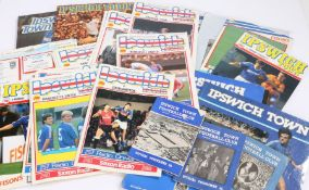 Ipswich Town, a collection of Programmes from the 1980's onwards, together with 1960's Programmes,