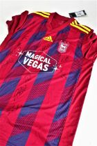 Signed Ipswich Town shirt, donated by Ipswich Town Football Club