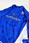 Ipswich Town signed football shirt, circa 2005