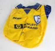 Replica Tottenham FC Football shirt signed by Glenn Hoddle