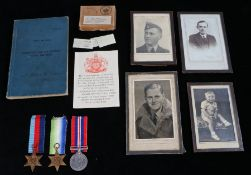 Second World War Royal Air Force casualty grouping, Observers and Air Gunners Flying Log Book to