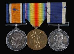 First World War Royal Navy group of medals, 1914-1918 British War Medal, and Victory Medal ( K.11541