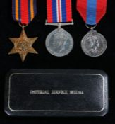 Elizabeth II Imperial Service Medal ( EWARD (sic) JAMES ROBERT SCOTT) held in Royal Mint fitted