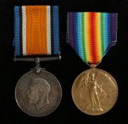 First World War grouping, 1914-1918 British War Medal, Victory Medal, (3367 GNR. J. DAVIES. R.A.)