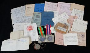 Second World War Royal Air Force grouping to 934628 L.A.C. Edward Young, to include 1939-1945