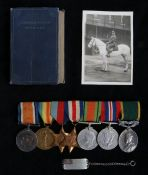 First and Second World War group of medals, 1914-1918 British War Medal and Victory Medal (1829 PTE.