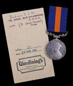 George V Indian Distinguished Service Medal (2454 TR - DFDR. MIR MUHAMMAD. 71-G.C.C.) Troop