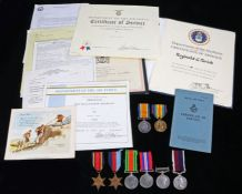 First and Second World War family grouping, 1914-1918 British War Medal and Victory Medal (216890