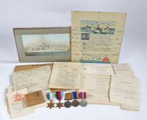 First and Second World War RAF/Royal Navy grouping, 1914-1918 British War Medal (160890 3 A.M. B.