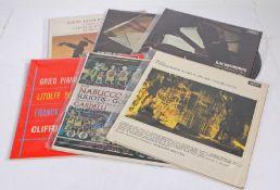 6 x Classical LPs. Clifford Curzon - Grieg: Piano Concerto (SXL 2173). Gardelli/Vienna State
