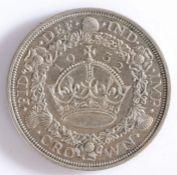 GEORGE V. 500 Silver crown 1932 (2395 struck), spink 4036 rare. GVF/EF.