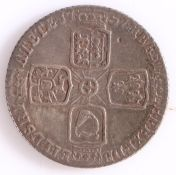 George II Sixpence, 1757