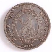George III, Bank of England Dollar, 1804