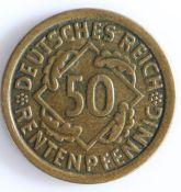 Germany, 50 Pfenning 1924 G