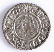 AETHELRED ii SILVER PENNY, FIRST HAND TYPE, SPINK 1144 978-1016, Thought to have been issued 979-985