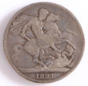 George IIII, Crown, 1821, St George and the Dragon