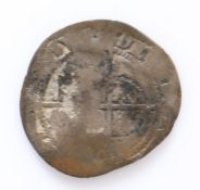 Elizabeth I, silver Half Groat, rubbed