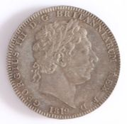 George III Crown, 1819, St George and the Dragon