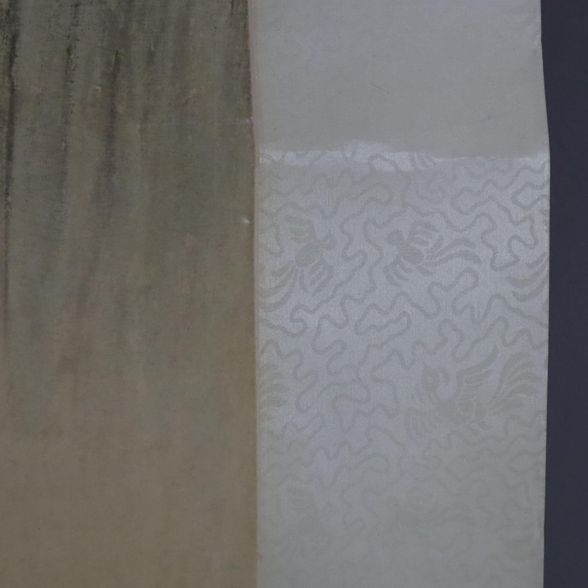 Chinesisches Rollbild - gesiegelt Zhang Daqian (   Chinese Hanging Scroll - sealed Zhang Daqian (18 - Image 17 of 18