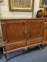 VICTORIAN MAHOGANY VESTMENT CHEST WITH CHURCH OF IRELAND CONNECTIONS