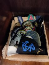 BOX OF MILITARY PATCHES