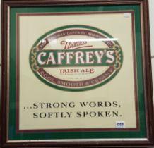 CAFFREYS PUB SIGN